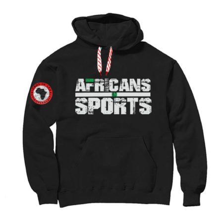 Africans In Sports Hoodie 1
